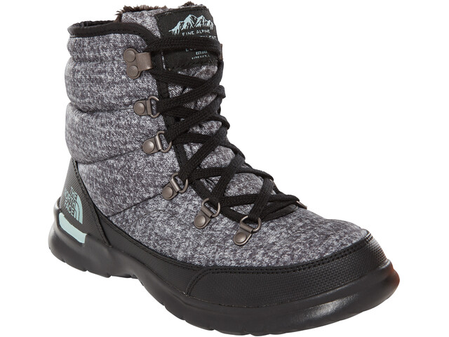 The North Face Thermoball Lace II Shoes Women Burnished Houndstooth Print/Blue Haze